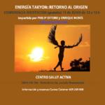 ENERGÍA TAKYON, RETORNO AL ORIGEN