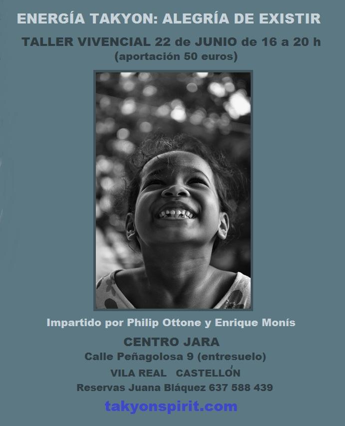 Jun 22 2019 ENERGÍA TAKYON: ALEGRÍA DE EXISTIR EN CASTELLÓN
