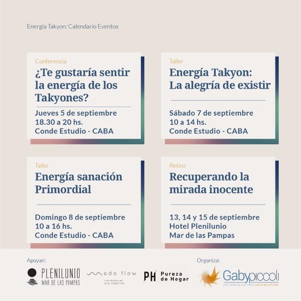 Gaby piccoly - Posteo Calendario Takyones