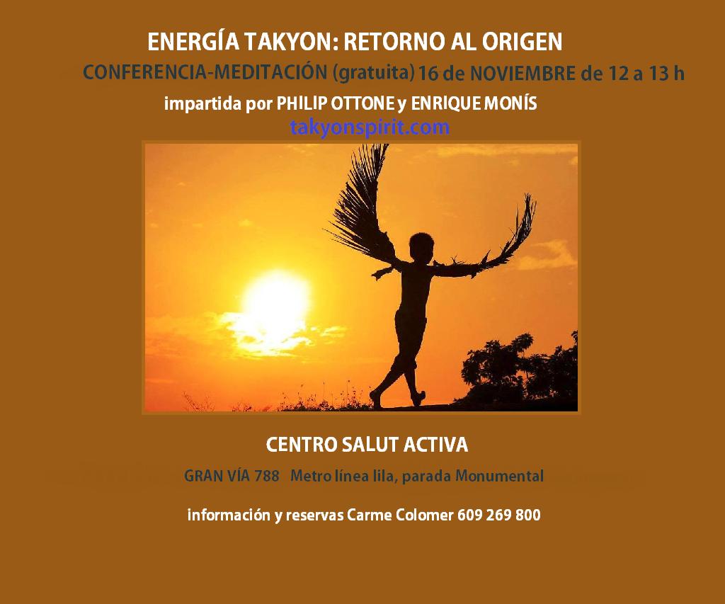 Energía Takyon Conferencia 15 junio